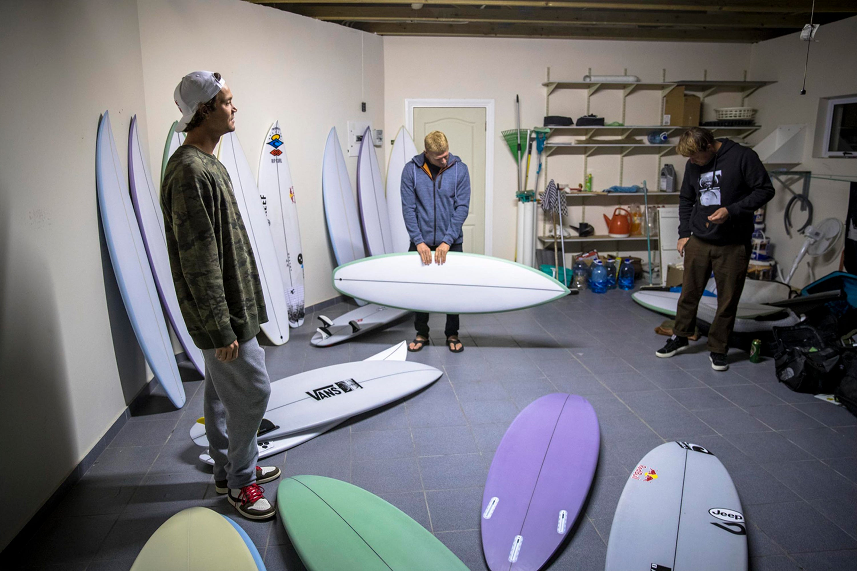 Pukas Darker as seen at SITD surfers: Dane Reynolds, Jordy Smith and Mick Fanning