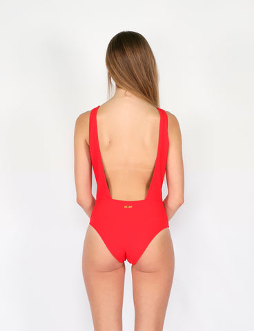 PUKAS - RED SWIMSUIT