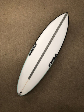 "Pukas Surfboard - 69ER EVOLUTION by Axel Lorentz- 5'11"" x 20 x 2,44 x 30,67L - Ref:AX03497"