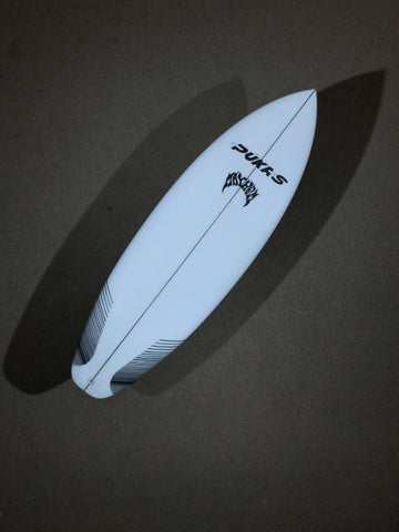 "Pukas Surfboard - LAZY LINK  by Matt Biolos - 5'07"" x 20,25 x 2,42 x 30.36L - PM00632"