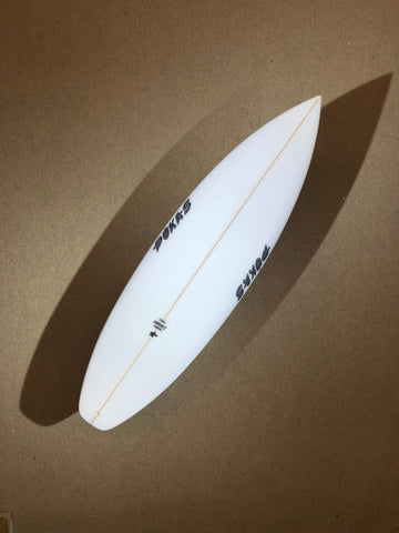 "Pukas Surfboard - TASTY TREAT by Axel Lorentz - 6'0"" x 19,50 x 2,56 x 31,72L - AX02483"