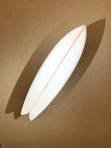 "Chris Christenson Surfboard - NAUTILUS by Chris Christenson - 6'0"" x 20 1/4 x 2 1/2 x 33,42L - CX01121"
