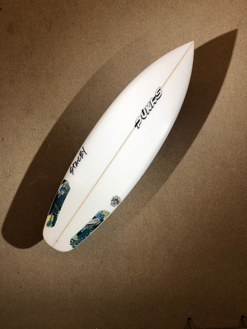 "Pukas Surfboard - WAVE SLAVE by Lee Stacey - 5'11"" x 19.88 x 2.73 x 30,94L - Ref LS00249"