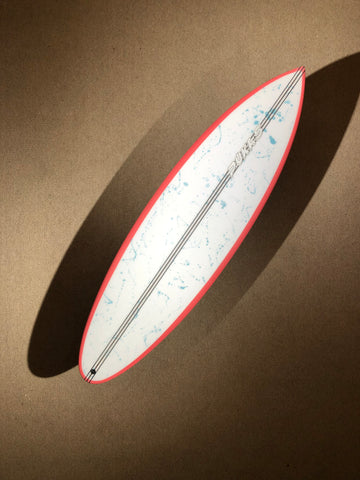 "Pukas Surfboard - THE BUD by Eye Symmetry - 6'04"" x 20 3/4 x 2 1/2 x 34.85L - PE00065"