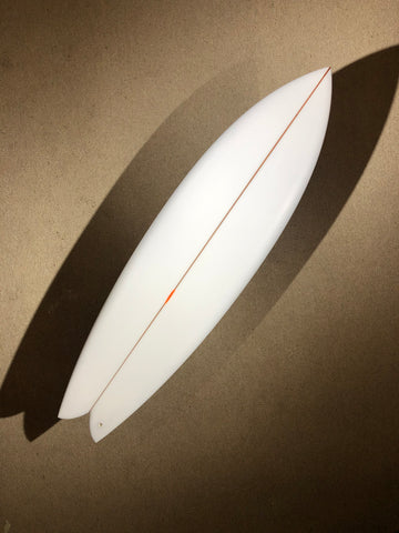 "Chris Christenson Surfboard - NAUTILUS by Chris Christenson - 6'06"" x 20 3/4 x 2 5/8 - CX01123"