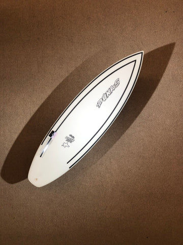 "Pukas Surfboard - INNCA Tech - TASTY TREAT by Axel Lorentz- 5'08"" x 18,88 x 2,35 x 26,671L"