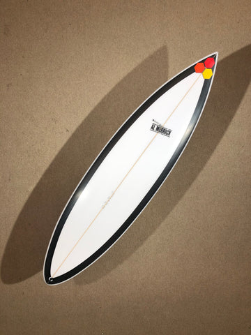 "Channel Islands Surfboard  - BLACK BEAUTY by Al Merrick - 6'09"" x 20 1/4 x 2 7/8 x 40,1L - Ref CI08271"