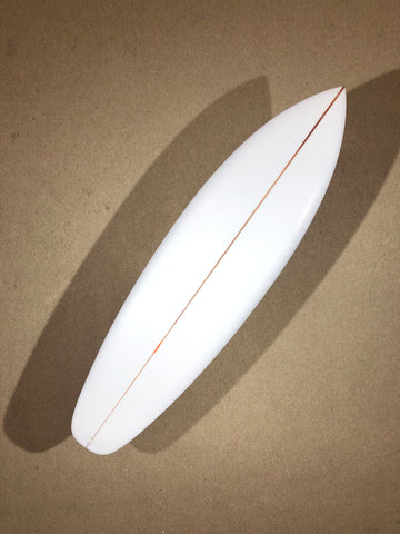 "Chris Christenson Surfboard  - SURFER ROSA by Chris Christenson - 6'06"" x 21 x 2 11/16 - CX01409"