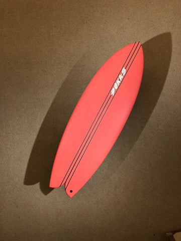 "Pukas Surfboard - WOMBI FISH by Eye Symmetry - 5'08"" x 21 1/4 x 2 3/8 x 32.4L - PE00087"