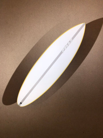 "Pukas Surfboard - THE BUD by Eye Symmetry - 6'02"" x 20 1/4 x 2 7/16 x 32.30L - PE00060"