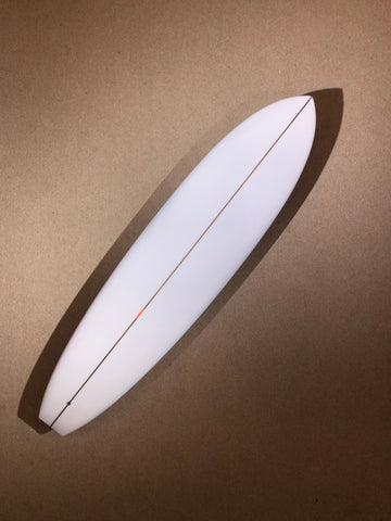 "Christenson Surfboard - FLAT TRACKER by Chris Christenson - 7'4"" x 21 1/4 x 2 7/8 x 49.11L - CX00906"