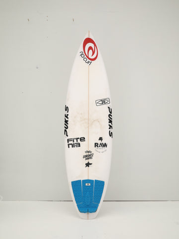 "2ND HAND Pukas Surfboard - TASTY by Axel Lorentz - 5'8"" 1/2 x 18'13 x 2'19 - 23'65L Ref: SH00511"