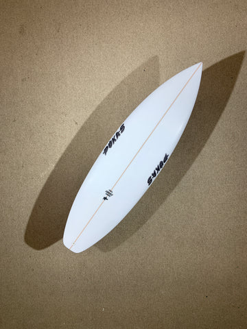 "Pukas Surfboard - TASTY TREAT by Axel Lorentz - 5'08"" x 18,88 x 2,35 x 26,68L - AX02987"