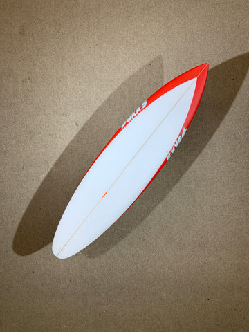 "Pukas Surfboard - WATER LION by Chris Christenson - 6'02"" x 18 11/16 x 2 3/8 x 30L - PC00254"