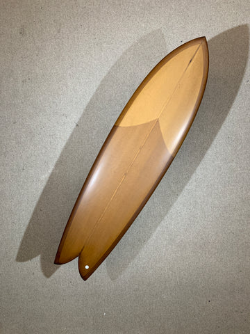 "Chris Christenson Surfboard - LONG FIHS by Chris Christenson - 6'10"" x 21 3/4 x 2 11/16 - CX01263"