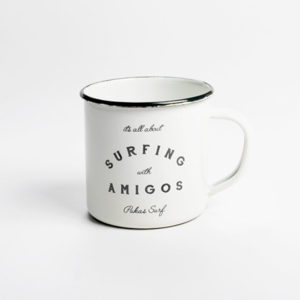 Pukas Surf SURFING WITH AMIGOS Mug