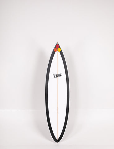 "Pukas Surf Shop - Channel Islands - BLACK BEAUTY by Al Merrick - 6'3"" x 18 3/4 x 2 1/2 - 30L - CI11095"