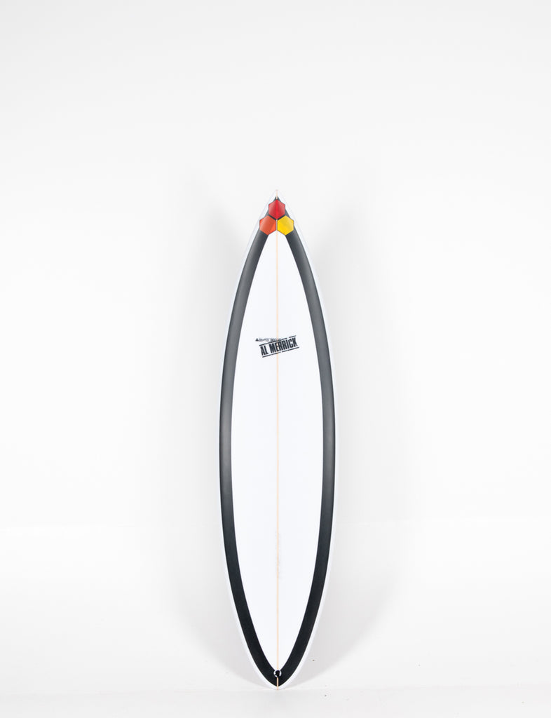 "Pukas Surf Shop - Channel Islands - BLACK BEAUTY by Al Merrick - 6'6"" x 19 1/4 x 2 3/4 - 33,49L - CI13153"
