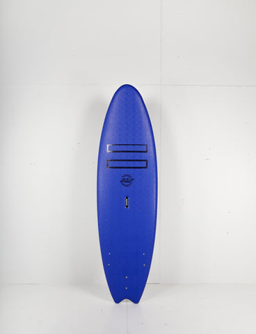 "Pukas Surf Shop - Indio Softboards - RETRO Navy Blue - 6´6"" x 22 1/2  x 3 1/4 - 55L"