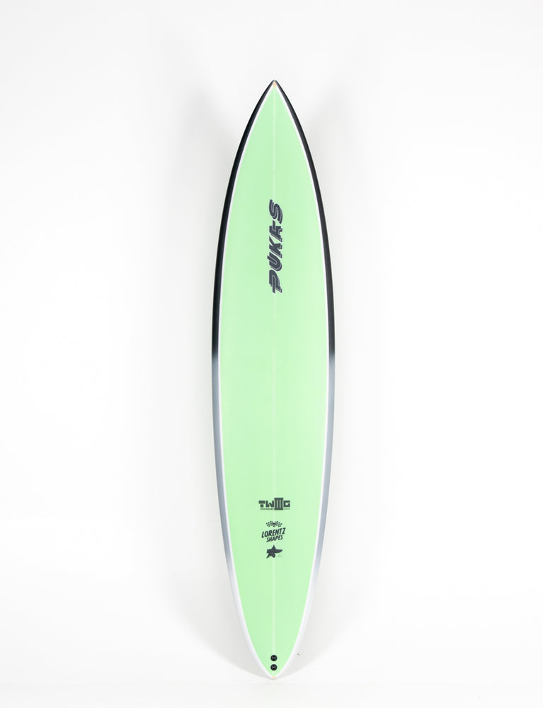 "Pukas Surf Shop - Pukas Surfboard - TWIG CHARGER by Axel Lorentz - 8´0"" x 20,12 x 3,25 - 52,68L  AX04310"