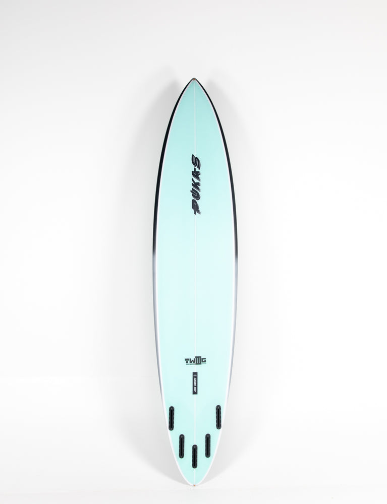 "Pukas Surf Shop - Pukas Surfboard - TWIG CHARGER by Axel Lorentz - 8´6"" x 20,63 x 3,38 - 59,68L  AX04312"