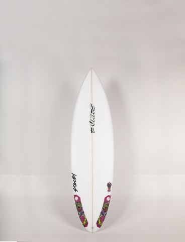 "Pukas Surfboards - ZOMBIE WOLF by Lee Stacey - 6'1"" x 19 3/4 x 2 9/16 x 33L. - LS00099"