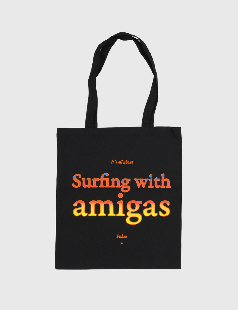 SURFING WITH AMIGAS - TOTE BAG