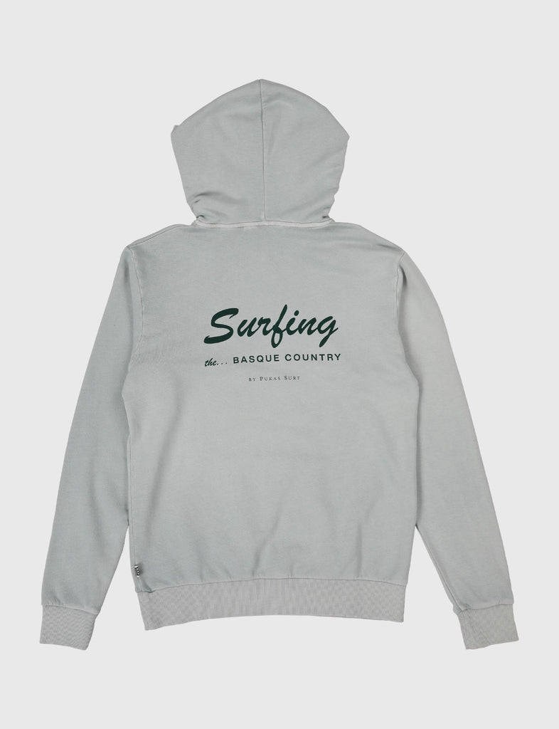 SURFING THE BASQUE COUNTRY BIG SURFING HOODIE