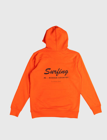 SURFING THE BASQUE COUNTRY - BIG SURFING HOODIE