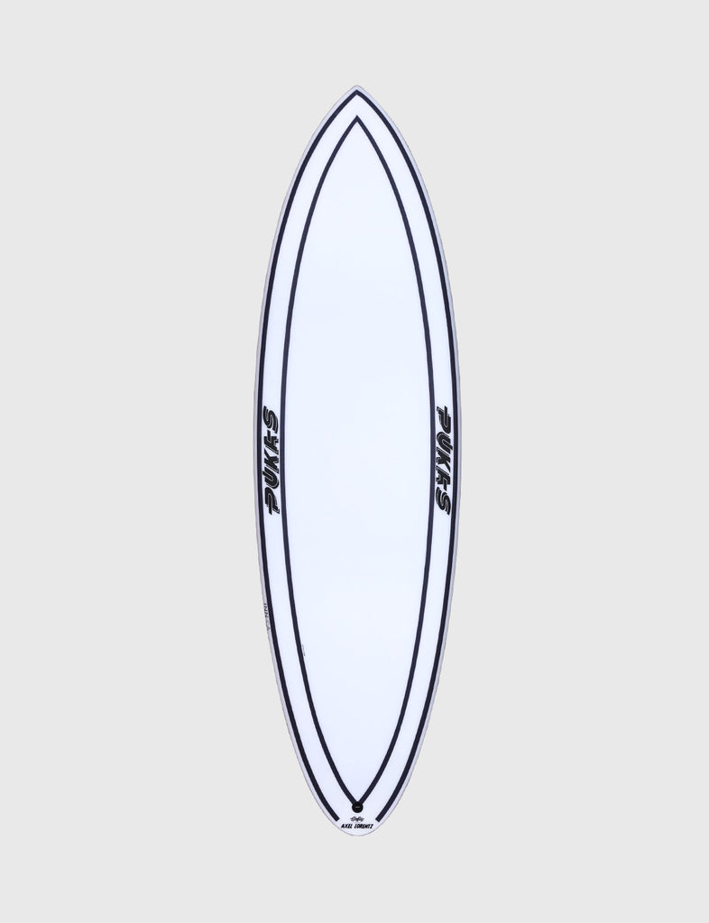 "Pukas Surfboard - INNCA Tech - 69ER EVOLUTION by Axel Lorentz- 6'02"" x 20,75 x 2,63 - 35,74L - Ref: 0009"