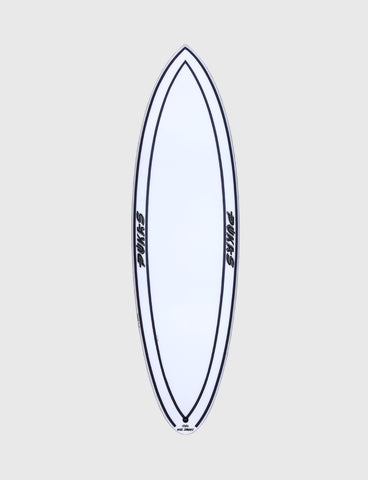 "Pukas Surfboard - INNCA Tech - 69ER EVOLUTION by Axel Lorentz- 5'10"" x 19,75 x 2,38 - 29,12L - Ref: 0004"
