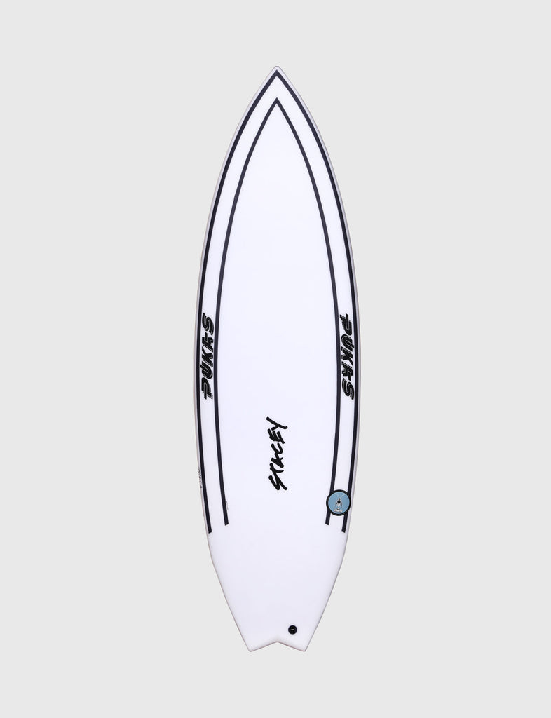 "Pukas Surfboard - INNCA Tech - THE ROACH by Lee Stacey - 5'10"" x 19 7/8 x 2 3/8 - 30.90L"