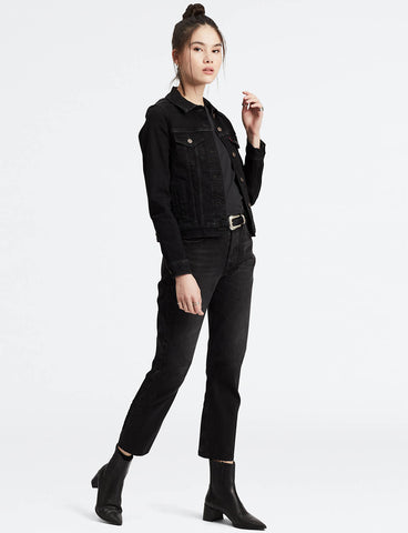 Pukas Surf Shop LEVIS 501 LEVIS CROP JEANS Black Sprout Black