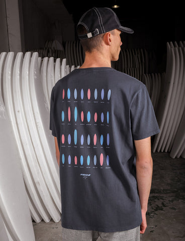 PUKAS - SURFBOARDS ADDICTION TEE