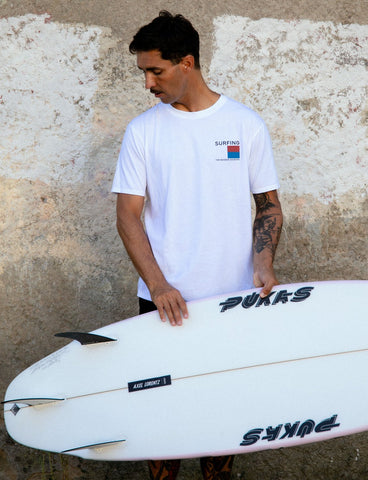 SURFING THE BASQUE COUNTRY - FLAG TEE