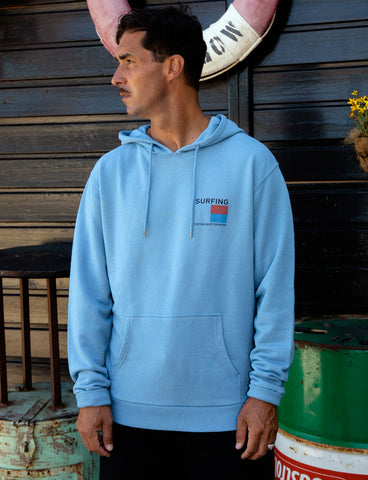 SURFING THE BASQUE COUNTRY - FLAG HOODIE
