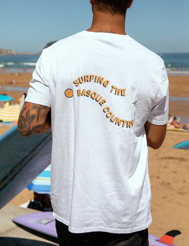 SURFING THE BASQUE COUNTRY - ERETI TEE