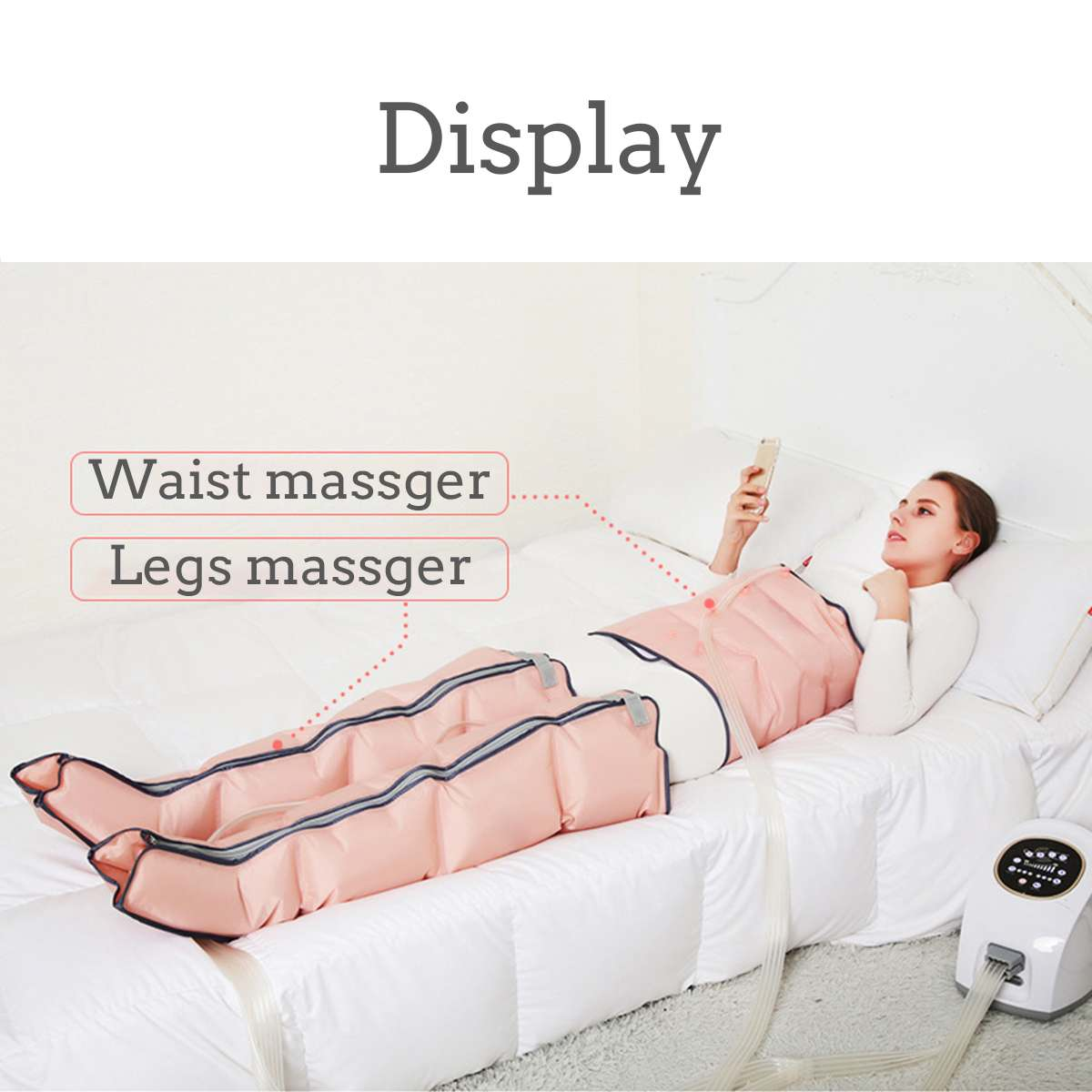 Electric Leg Compression Massager