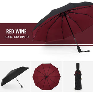 Open image in slideshow, Windproof Automatic Double Umbrella