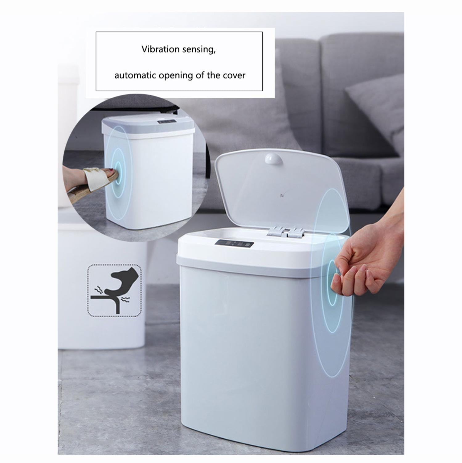 Automatic Smart Trash Can