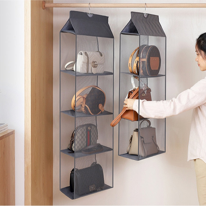 Hanging Wardrobe Bag Organizer