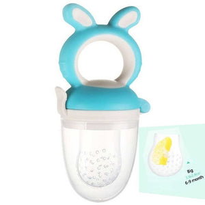 Open image in slideshow, 2-in-1 Baby Fruit Feeder Pacifier and Teething Toy (100% SAFE FOR BABIES)