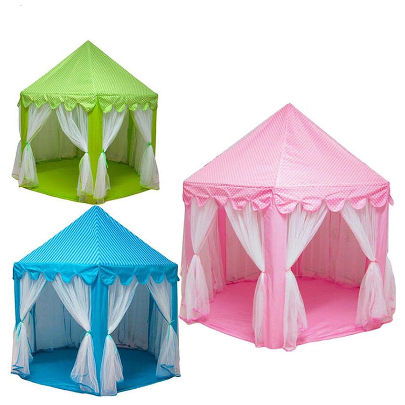 Play House Tent Toys | Princess Folding Tent Castle For Children