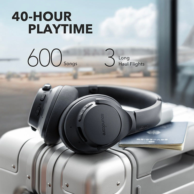 Hybrid Active Noise Cancelling Headphones | Wireless