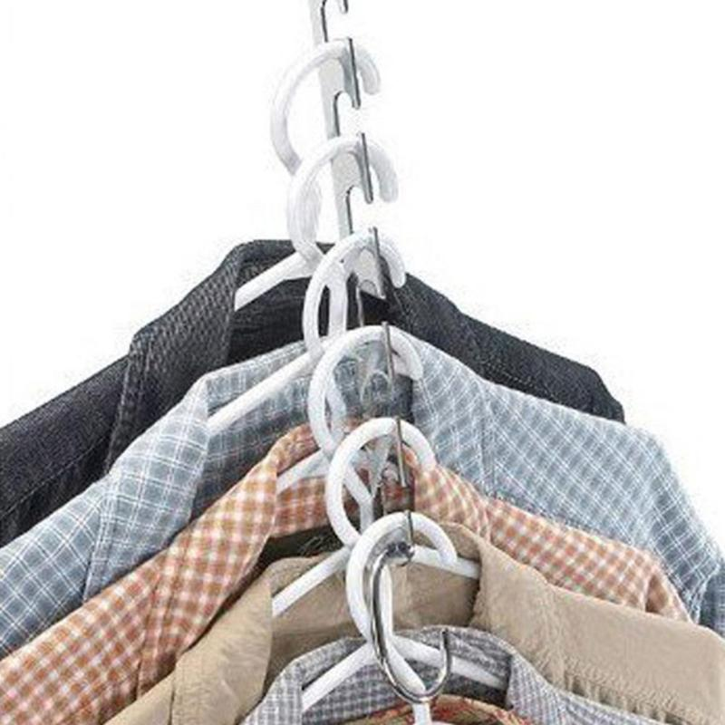 Hanging Chain Metal | Closet Hanger Shirts Tidy 2/4/6/8/10pcs