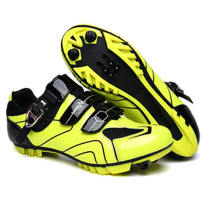 Open image in slideshow, Men Cycling Mountain Bike Shoes