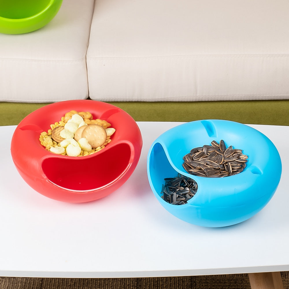 Portable Creative Snack and Mobile Bowls