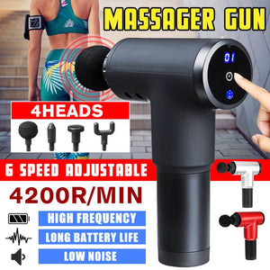 Percussive Deep Muscle Massage Gun