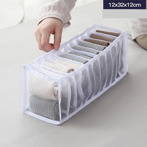Open image in slideshow, Closet Organizer For Folding Ties, Socks, Shorts, etc