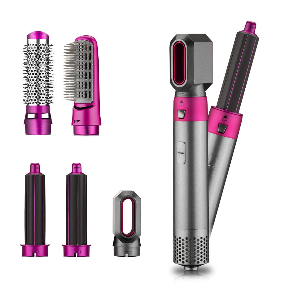 5 in 1 Multifunctional Hair Styler - Curler, Dryer, Straightener | Dyson Inspired